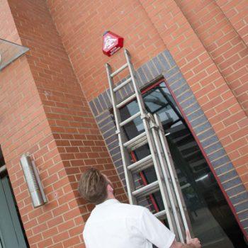 burglar alarm setup
